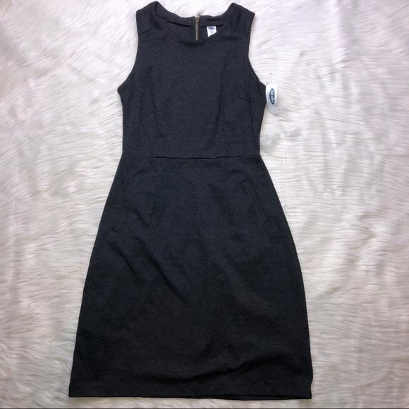 bee34e2c856a4 Old Navy Sleeveless Ponte Knit Sheath Dress